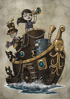 Steampunk Tendencies | Craig Bruyn