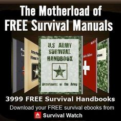 Free Survival EBooks.Great to have some on your phone. #prepperhacks #WildernessSurvival #SurvivalGear