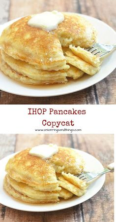 Plump and pillowy, these IHOP pancakes copycat are just as tasty and delicious a. CLICK Image for full details Plump and pillowy, these IHOP pancakes copycat are just as tasty and delicious as what you& find in the. Ihop Pancakes, Ihop Pancake Recipe Copycat, I Hop Pancake Recipe, Buttermilk Pancakes Fluffy, Buttermilk Recipes, Recipe For Pancakes, Simple Pancake Recipe, Snacks, Breakfast
