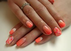 Summer time ombré #ombrenail #summernail #neonnails Neon Nails, Summer Nails, Summer Time, Beauty, Daylight Savings Time, Beleza, Cosmetology, Summer, Summery Nails