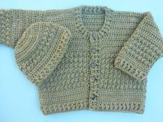 crochet baby cardigan or baby jacket free pattern with picture tut by crochetcrosiahome