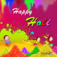 Wish you all a very 'Happy & Safe Holi' #www.taaray.com