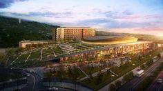 Shantou University Sport Park by Manica Architecture