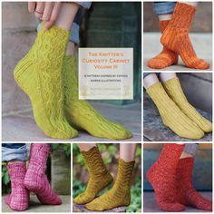 Socks from The Knitter's Curiosity Cabinet Volume III