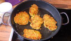 Veggiburger Iron Pan, Cauliflower, Vegetables, Food, Food And Drinks, Cooking, Cauliflowers, Essen, Vegetable Recipes