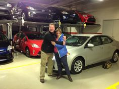 Hugs and joy at Ardmore Toyota! Congrats to Andra on the purchase of your new 2015 Toyota Corolla! Enjoy every moment in your new #Corolla and send us more pics of you with your Toyota! Thank you from Ryan Jones, Damon and everyone at Ardmore Toyota! #OhWhatAFeeling #HugItOut #OneBoldChoice