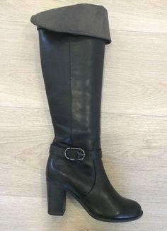 Kaufe meinen Artikel bei #Kleiderkreisel http://www.kleiderkreisel.de/damenschuhe/stiefel/125408592-neue-overknee-stiefel-mit-schnallen-von-tamaris