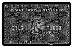 The Black American Express Credit Card Really Exists Credit Card Design, American Express Credit Card, Member Card, Plastic Card, Black Card, Urban Legends, Ladies Night, Pop Culture, El Dorado