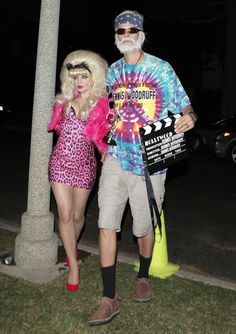 Fergie and Josh Duhamel: Fergie and Josh Duhamel went zany for their Angelyne and Dennis Woodruff costumes.