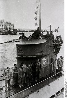 Einlaufen eines U-Bootes