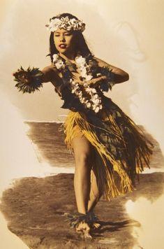 vintage hula