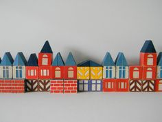 Vintage Scandinavian-Style Blocks. From MonkiVintage.