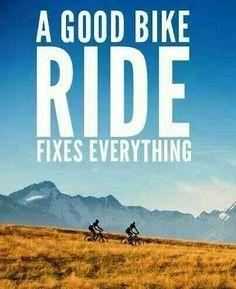 A bike ride.....