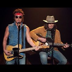 "80's Bruce and ""Neil Young"" aka Jimmy Fallon"
