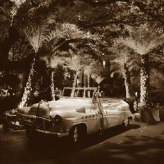 The bride and groom's getaway car from their wedding at The Argyle! www.jwilkinsonco.com #photography #film #wedding #theargyle