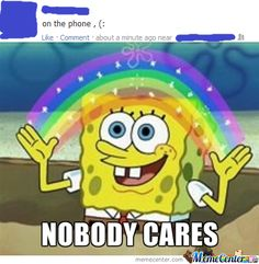 Nobody cares about your irrelevant FB life...