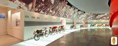 Museo Ducati di Bologna. (Clicca sulla foto per aprire il tour virtuale)