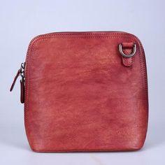Women Satchel, Leather Cross Body Bag, Vintage Leather Satchel Bags BY140098