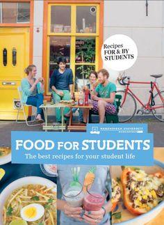 Wageningen University - Food for students cookbook. €14,95