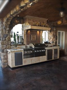 Outdoor Living Landscape Mcleanva Grill Chimneychapel Mesmerizing Outdoor Kitchens And Patios Designs Decorating Design