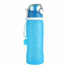 High Quality 750ML Portable Foldable Leakproof Water Bottle Kettle Cup Outdoor Sport Camping Silicone Folding Water Bottle  35-in Water Bottles from Home & Garden on Aliexpress.com | Alibaba Group