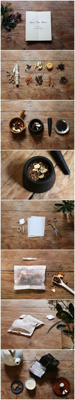 Chai Tea Recipe / Samuji Holiday Projects