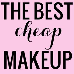 Want the best cheap makeup without sacrificing quality? Beauty blogger Meg O. on The Go shares a huge list of products that you will love!