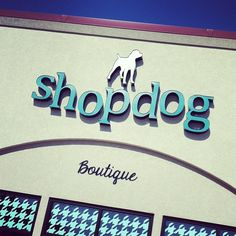 Sunny day at the shop! Pet boutique.