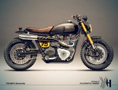 motorycleconcepts:  Triumph Bonneville Custom - repined by http://www.vikingbags.com/ #VikingBags