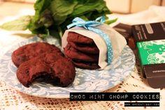 Choc Mint Chomp Cookies