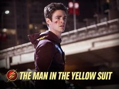 """The Flash -- """"The Man in the Yellow Suit"""" -- Image -- Pictured: Grant Gustin as Barry Allen/The Flash -- Photo: Diyah Pera/The CW -- © 2014 The CW Network, LLC. All rights reserved. Grant Gustin, The Flash Season 1, Flash Tv Series, Reverse Flash, Yellow Suit, Crazy Ex Girlfriends, Tv Seasons, Fastest Man, Dc Legends Of Tomorrow"""