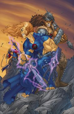 Thundercats: Dogs of War Variant Cover by Brett Booth