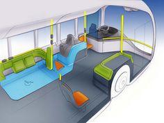 Bus Interior, Car Interior Design, Interior Sketch, Mode Of Transport, Public Transport, Bus Coach, Boat Design, Transportation Design, Concept Cars
