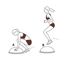 Six BOSU Ball Exercises