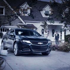 The 2014 #Chevy #Impala was tailored for your needs. You'll have a constant air of confidence. #FindNewRoads
