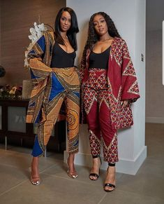 African print long jacket and Pants Two Piece Set /Ankara/African Clothing/African Fashion/Ankara Clothing/maxi pants, ankara kimono jacket African Fashion Ankara, Latest African Fashion Dresses, Ghanaian Fashion, African Dresses For Women, African Print Dresses, African Print Fashion, African Attire, African Wear, African Women