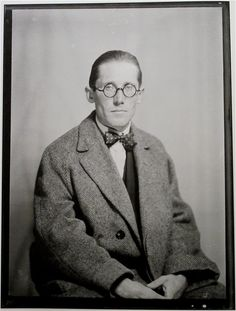 Le Corbusier Charles Édouard Jeanneret - by Man Ray