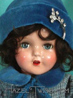 Vintage doll. I love composition dolls and have a blog about them. And an upcoming book! Plus, I'm a surgeon. Heh.