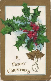 Leaping Frog Designs: Freebie Friday's Vintage Christmas Post Cards