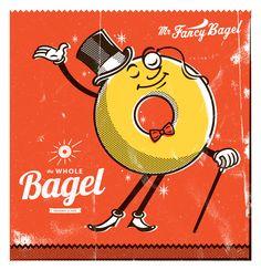 *Joe Snow Retro Packaging, Cartoon Logo, Vintage Cartoon, Character Illustration, Illustration Styles, Freelance Illustrator, Cool Posters, Food Illustrations, Surreal Art