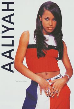 I mean seriously, nobody rocked Tommy better than Aaliyah. | 18 Epically '90s Tommy Hilfiger Moments