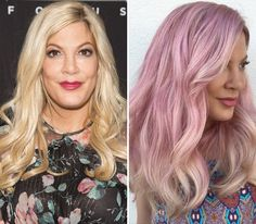 See the New Celebrity Hair Makeovers of 2016 - Tori Spelling from InStyle.com