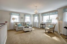 The seamless home addition boasts a spacious living room and parents retreat with generous master bedroom, indulgent twin walk-in robes and a luxurious ensuite.  #homerenovation #renovation #dreambedroom #bedroominspiration #parentsretreat #chandelier