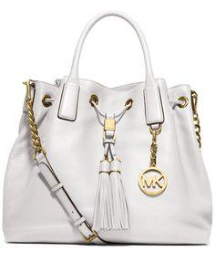 MICHAEL Michael Kors Camden Large Drawstring Satchel - Handbags & Accessories - Macy's