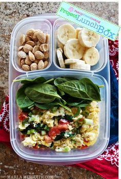 Veggie Scrambled Eggs - Project LunchBox | FamilyFreshCooking.com