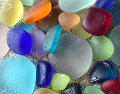 Pile of Rare Sea Glass ~West Coast Sea Glass.   I was 20 when I first found sea glass...... Did not know what it was at first