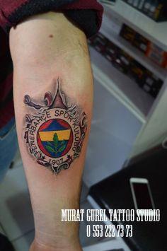 Fenerbahçe tattoo yırtık tattoo '' tattoo artist by Murat GÜREL '' manisa dövme