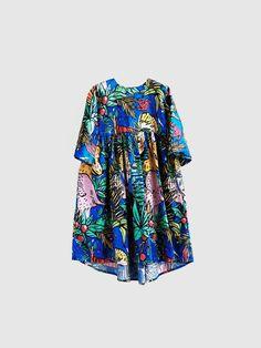 Wolf & Rita x JC de Castelbajac Paris - 100% Cotton Silvia Dress / Dans La Foret