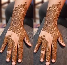 Circle Mehndi Designs, Indian Henna Designs, Floral Henna Designs, Legs Mehndi Design, Back Hand Mehndi Designs, Stylish Mehndi Designs, Latest Bridal Mehndi Designs, Mehndi Designs For Girls, Mehndi Designs For Beginners