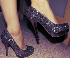 love these (bought from VS)...Madden Girl - pewter sequin 5' heels